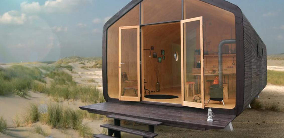 La primera casa eco friendly del mundo hecha de cart n for Piani casa eco friendly