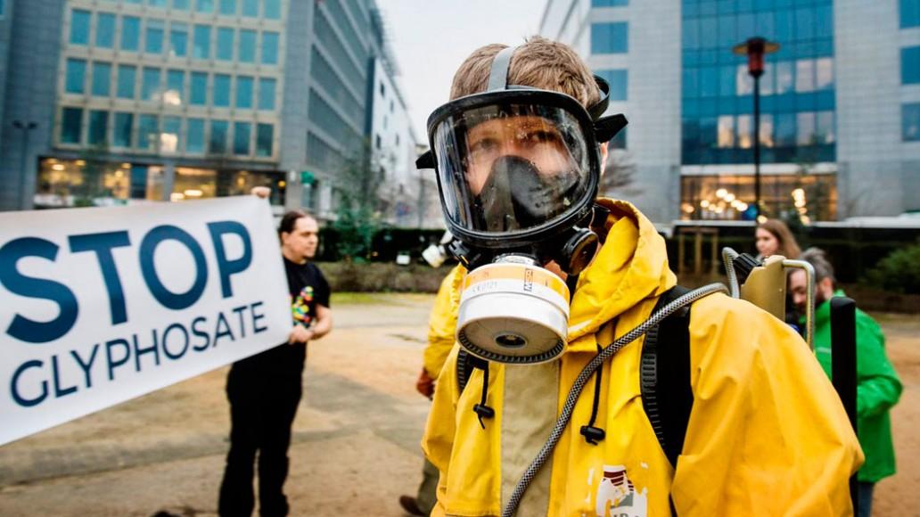 Manifestación contra el grifotas en Europa