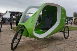 Vehículo eléctrico argentino
