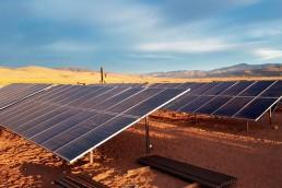 Jujuy, parque fotovoltaico. Imagen ilustrativa