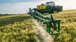 Tractor fumigador -