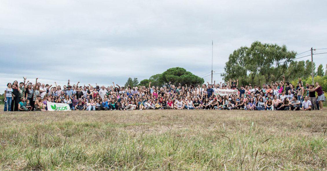 En la reunión organizada por ECOS de Saladillo participaron más de 350 personas.