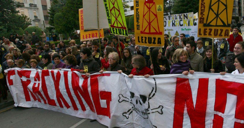 movilización contra el fracking en mendoza