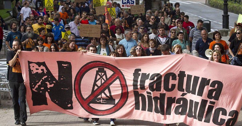 no al fracking en mendoza