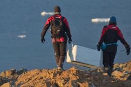 Contaminación en la Antártida