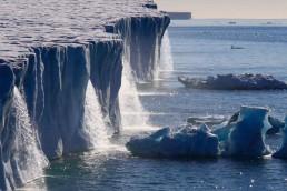 Estudio revela que, desde 1992, se perdieron tres billones de toneladas de hielo de la Antártida