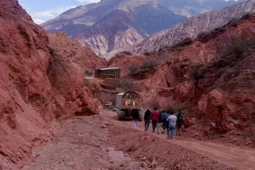 exploración minera ilegal en cafayate