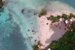 Aumento del nivel del mar, Isla Cangrejo de Panamá